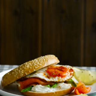 Breakfast Bagel Club Recipe