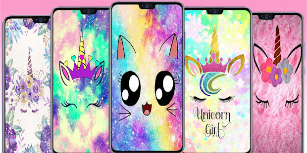 Cute Unicorn Wallpapers Kawaii Backgrounds Images ແອ ບໃນ Google Play