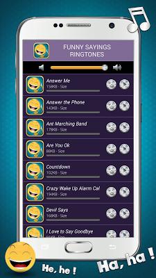 Funny Sayings Ringtones - screenshot