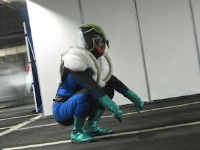 Photo: 今日の主査的怪人Ⅱハンカクセエ。