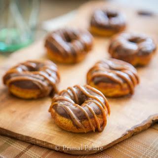 Pumpkin Spiced Donuts