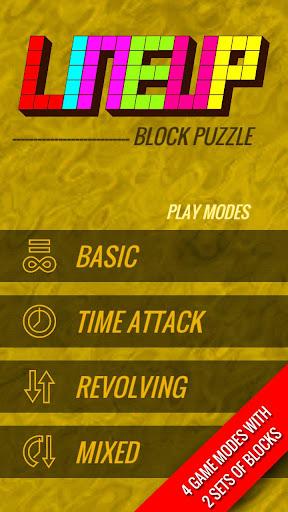 Lineup : Block Puzzle 14.7 screenshots 1