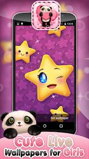 Cute Live Wallpapers for Girls - AppRecs