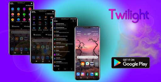 Screenshot for Twilight Theme for LG V20, LG G6, LG V30, LG G5 in United States Play Store
