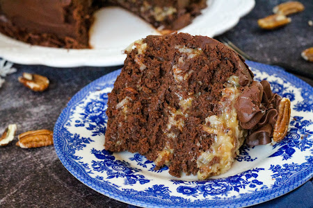 Daddy's Birthday Cake - German Chocolate Cake Recipe