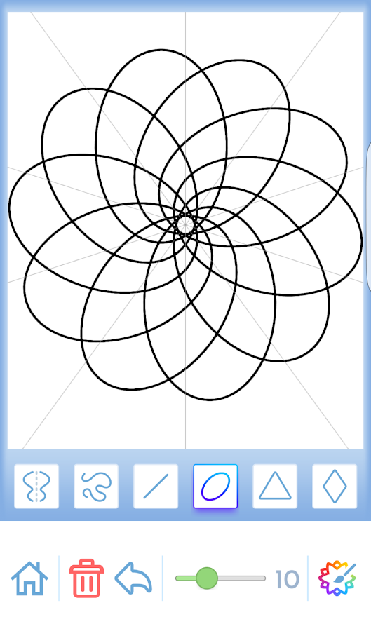 Coloring Pages App Android : Mandala coloring for adults android apps on google play