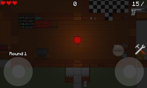 Zombie Cubes Free  captures d'écran 1