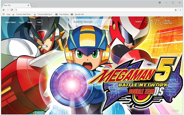 Mega Man HD Wallpaper Megaman New Tab Themes
