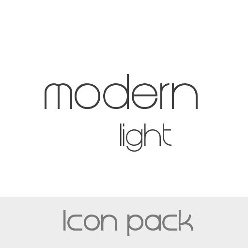 Icon Pack Modern Light