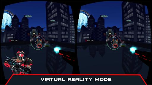 VR AR Dimension - Robot War Galaxy Shooter android2mod screenshots 2