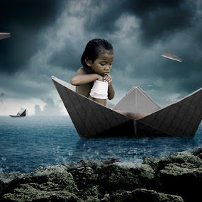 The color of one last child by Heru Sulistyono - Digital Art People