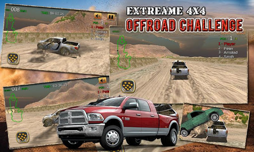 4X4 Jeep Offroad Dirt Racing