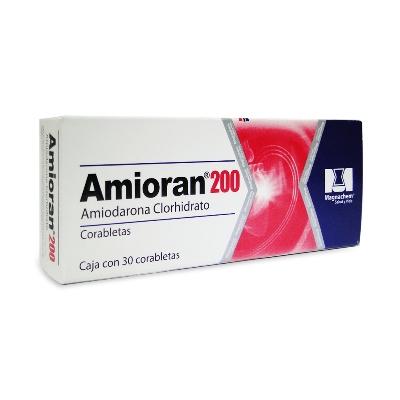Amiodarina Amioran 200mg x 30 Tabletas