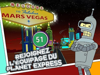 Futurama: Game of Drones – Vignette de la capture d'écran