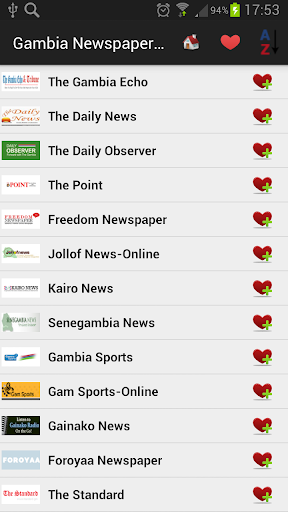 Gambia Newspapers And News