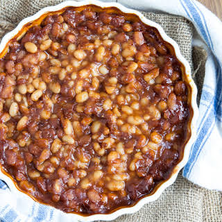 Barbecue Baked Beans With Canned Beans Recipes.