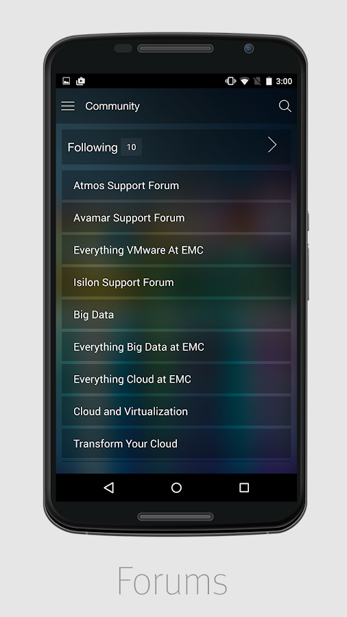 DELL EMC MOBILE- screenshot