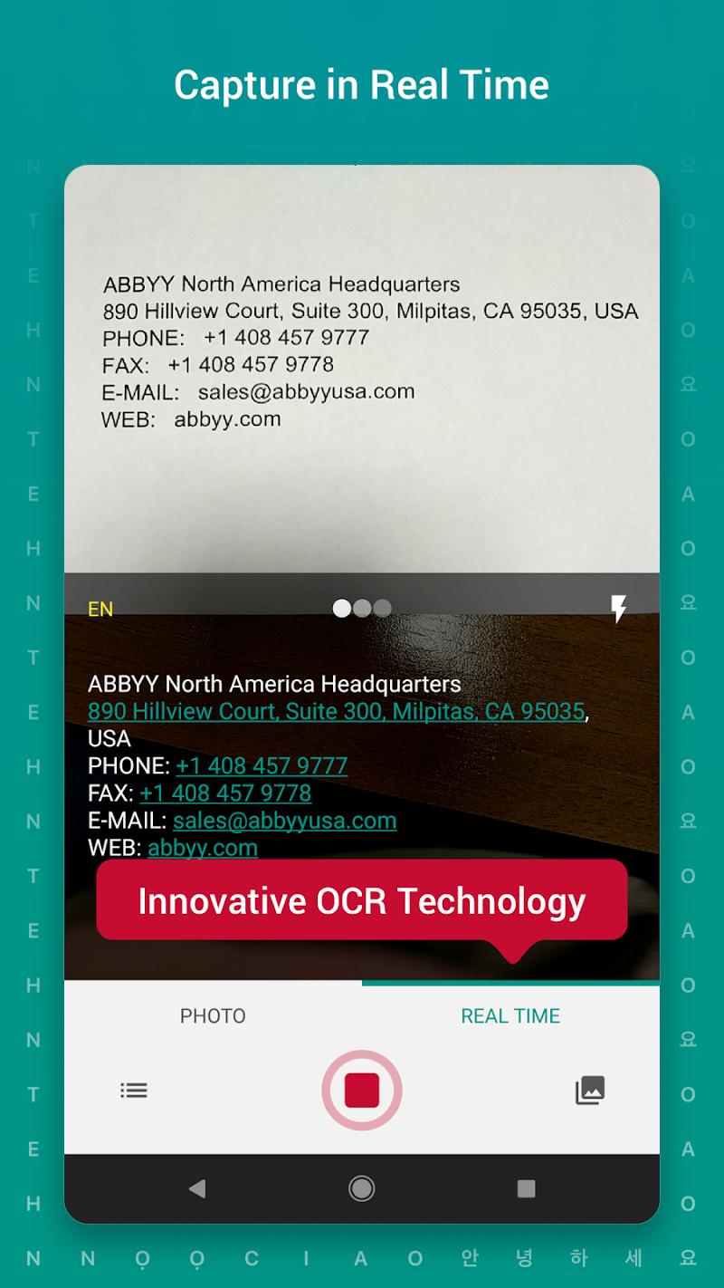 TextGrabber – image to text: OCR & translate photo Screenshot 1
