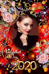 Download Valentine Photo Frame 2020 - Love Photo Frames For PC Windows and Mac apk screenshot 2