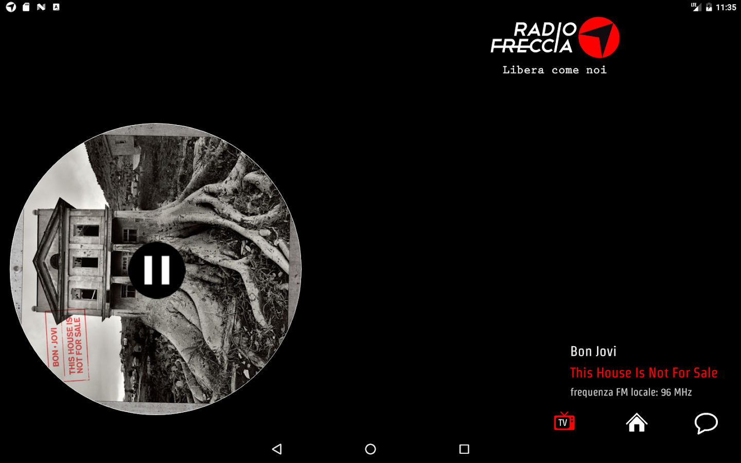 Radiofreccia- screenshot