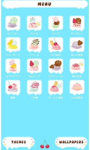 無料个人化Appのかわいい壁紙・アイコン-アイスがいっぱい-無料きせかえ|記事Game