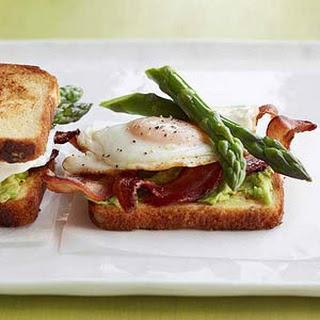 Avocado and Asparagus Egg Sandwiches