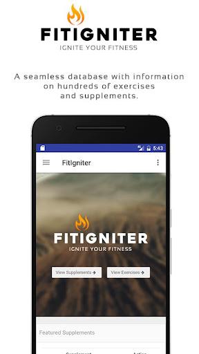 FitIgniter – Fitness Database v2.3