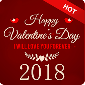 Happy Valentine's Greeting Cards & Wishes 2018