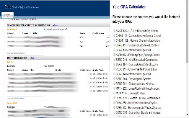 Calculate My GPA