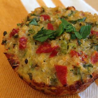 Easy Savory Italian Quinoa Bites