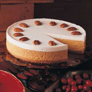 Pumpkin Cheesecake.