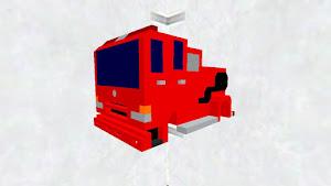 三菱ふそう ファイター コミカル消防車