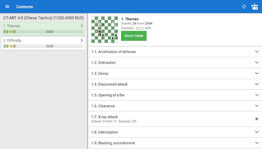 CT-ART 4.0 (Chess Tactics 1200-2400 ELO) Apk Download For Android 8
