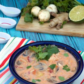 Crockpot Tom Kha Yum Soup