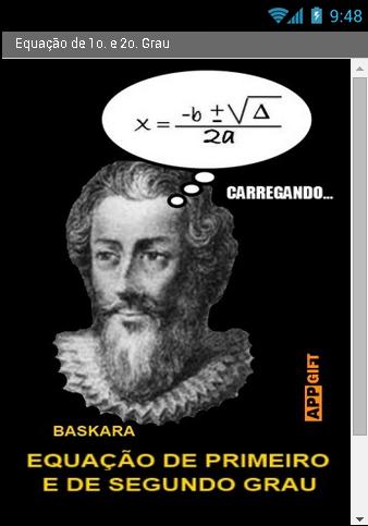 Equation 1º and 2º degree.
