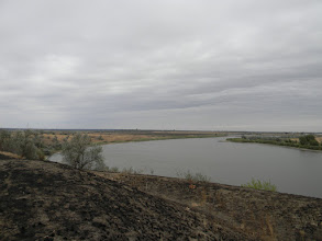 Photo: река Калалы, около которой и прошел бой