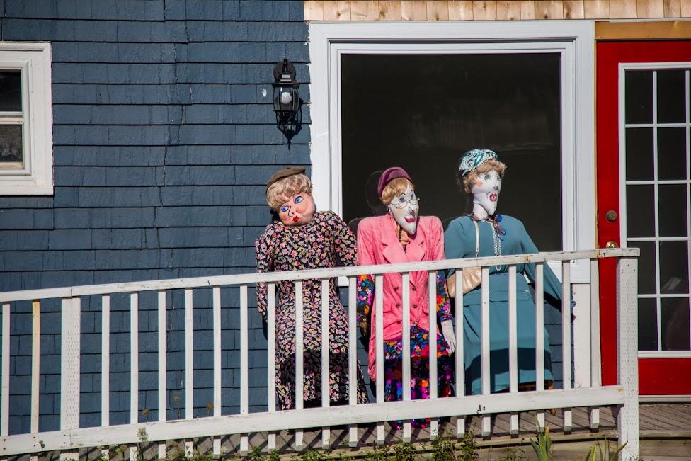 Festiwal Strachów na Wróble Mahone Bay