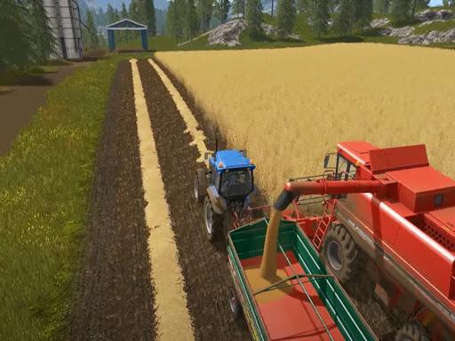 Tractor Trolley Farming Simulator 2020  screenshots 5