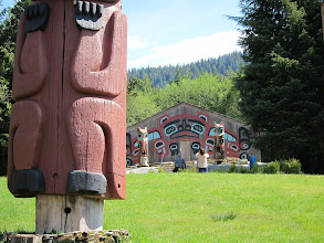 Photo: Saxman Village totem park
