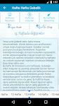 screenshot of Hamilelik Takibi