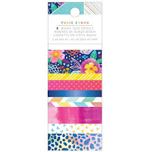 Paige Evans Washi Tape 8/Pkg - Go The Scenic Route