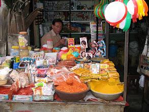 Photo: spice seller