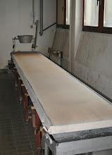 Photo: Miza za ulivanje kovine - Tisch zum Gießen des Metalls - Desk for casting the metal