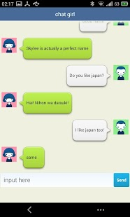 chat girl-girlfriend robot screenshot