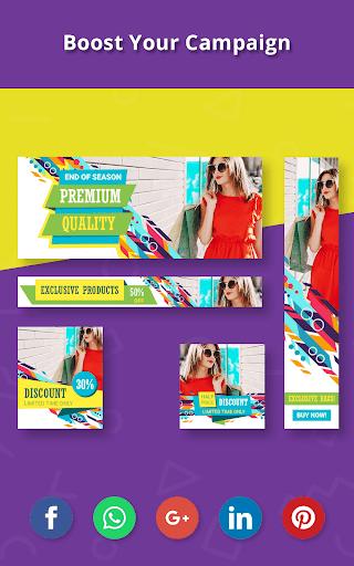 Banner Maker, Cover Designer, Thumbnail Creator 15.0 Apk for Android 24