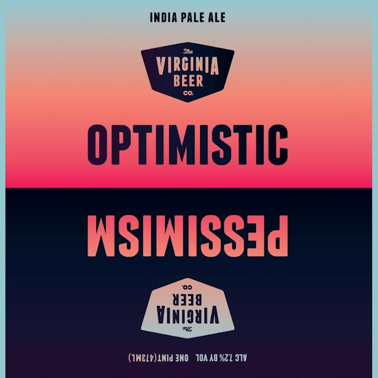 Logo of Virginia Beer Co. Optimistic Pessimism