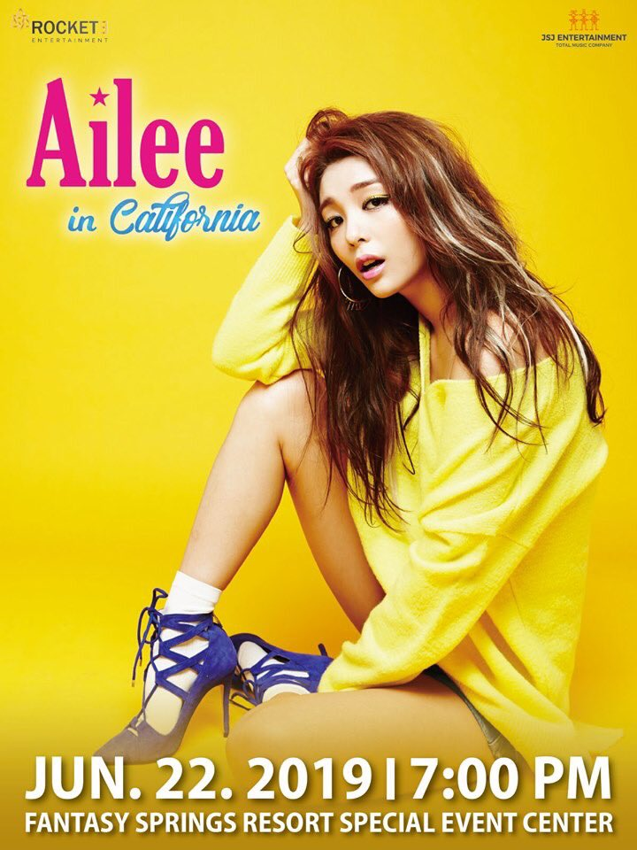 ailee concert poster 3