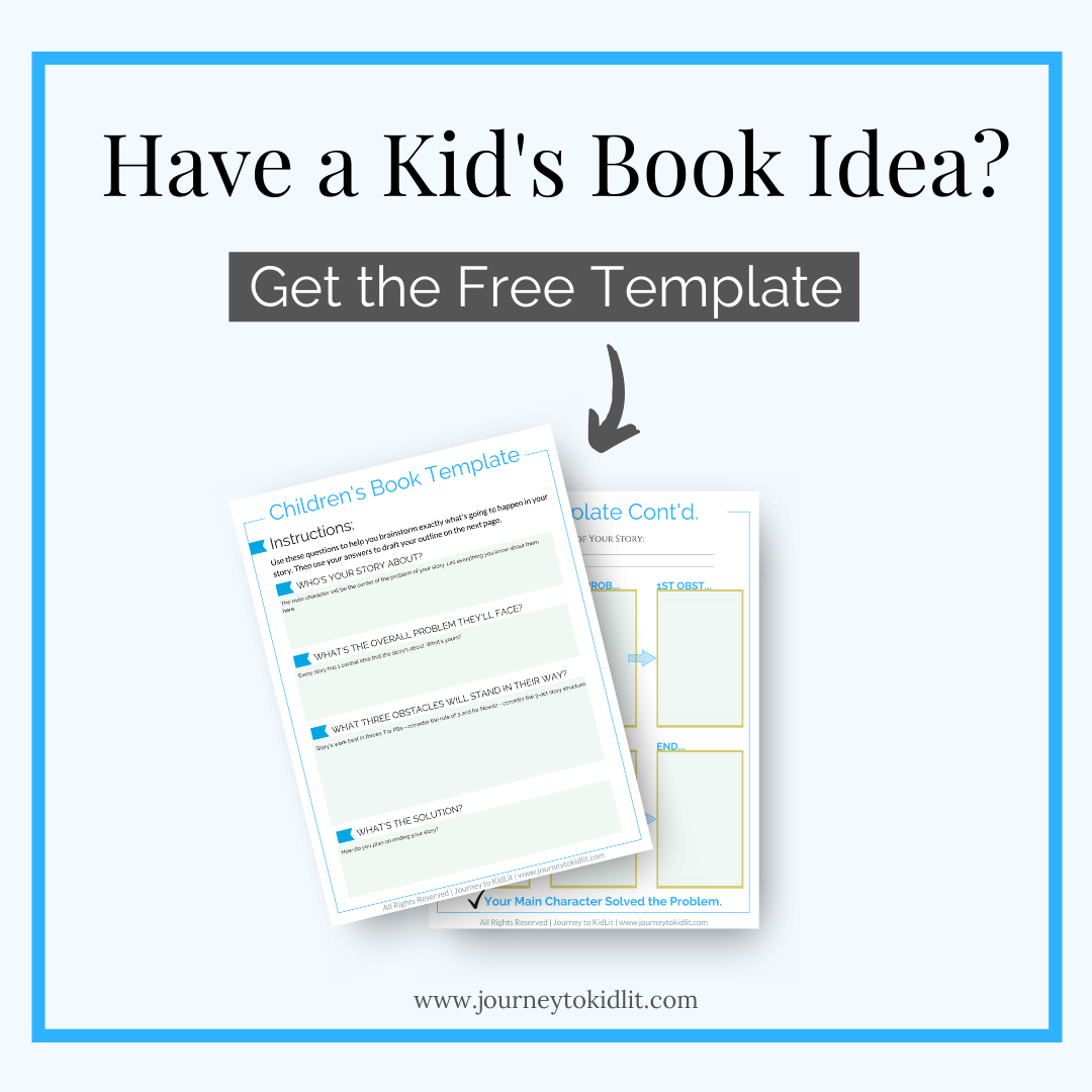 Free Children's Book Template