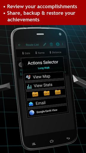 Walking Odometer Pro: GPS Fitness Pedometer screenshots 5