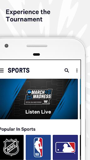 TuneIn: NBA Radio, Music, Sports & Podcasts 21.7 screenshots 1